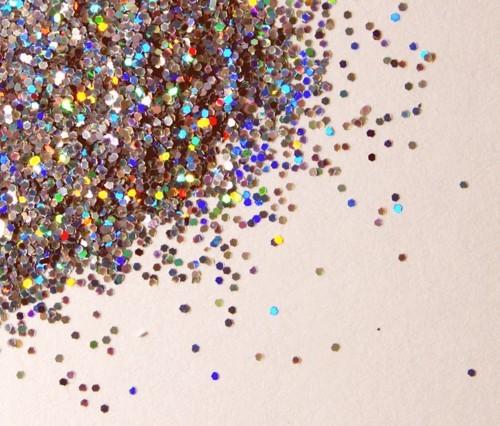 Yep.  Glitter
