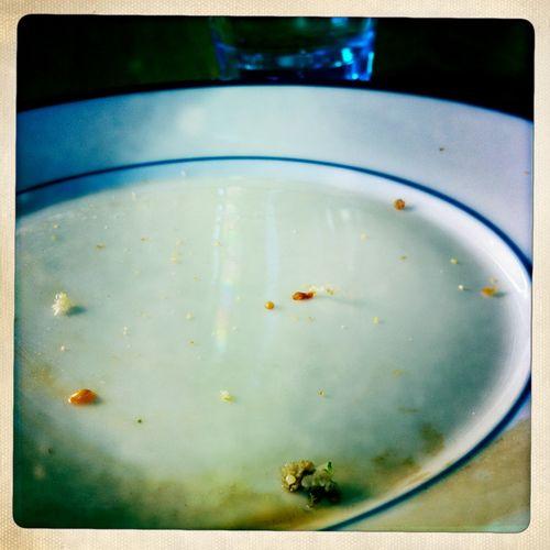 Sad empty plate