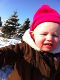 not happy- snow