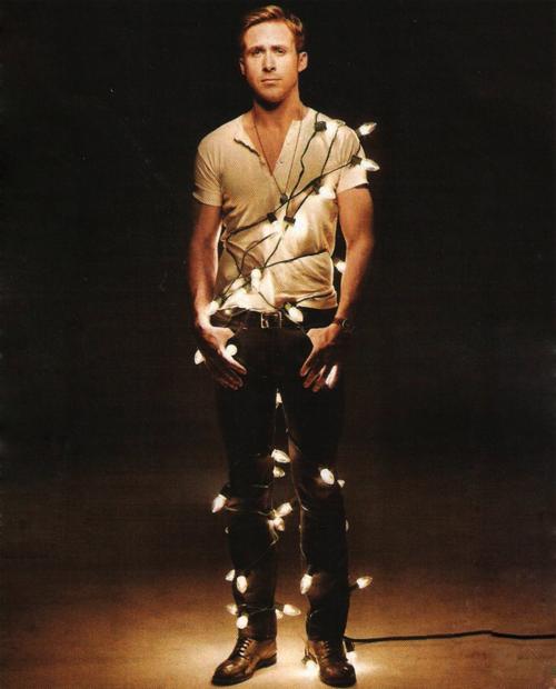 ryan gosling christmas lights