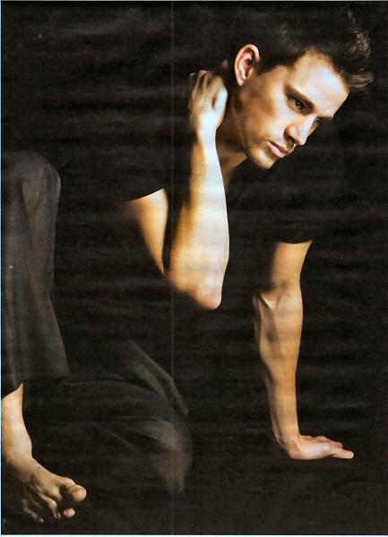Channing Tatum barefoot
