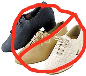 no practice shoes