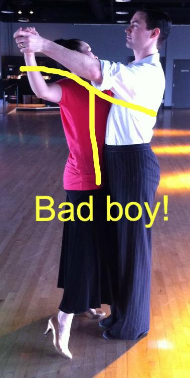 bad dance position