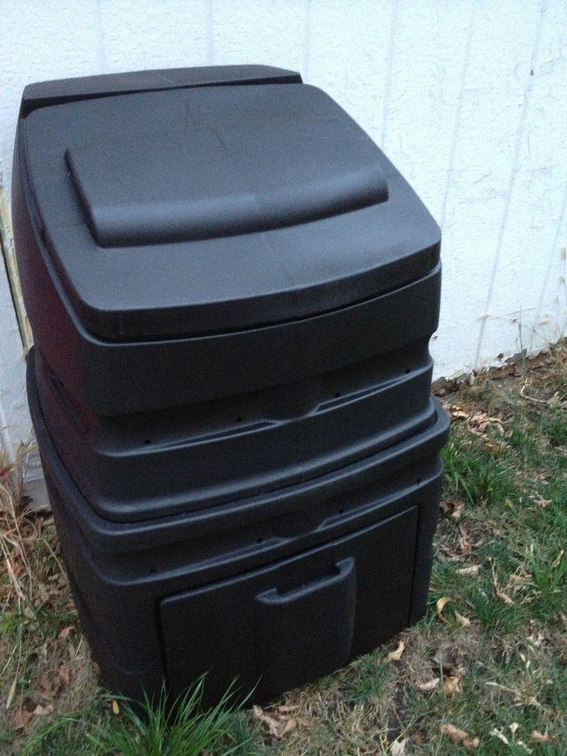 standing compost bin