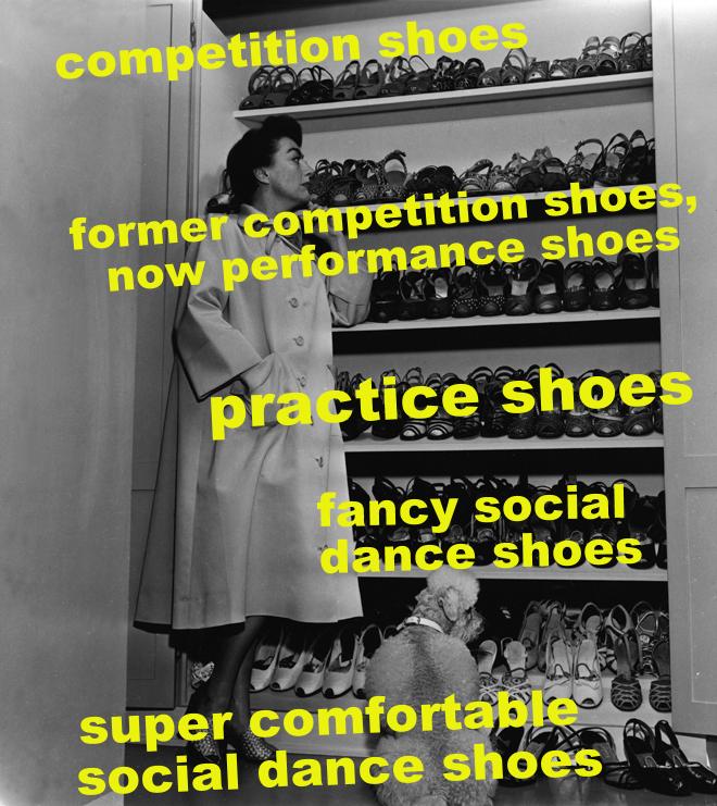 ballroom shoes
