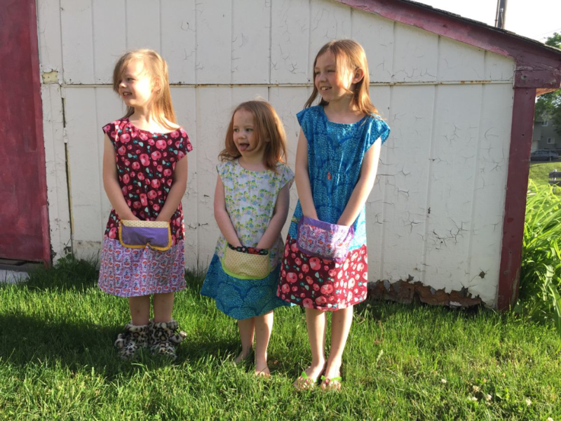 girls' Dottie Angel frocks